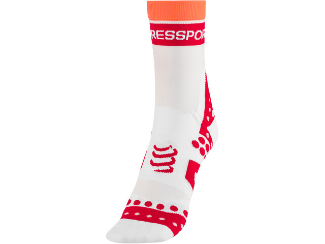 Compressport Pro Racing Ultralight Bike Calze alte, white